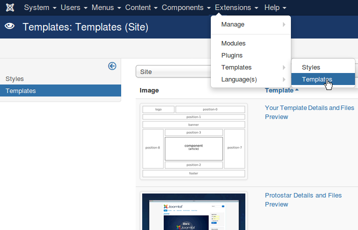 TEMPLATE - better with Joomla!